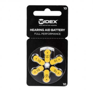 Батарейки для слуховых аппаратов ТИП 10