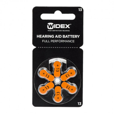 Батарейки для слуховых аппаратов ТИП 13